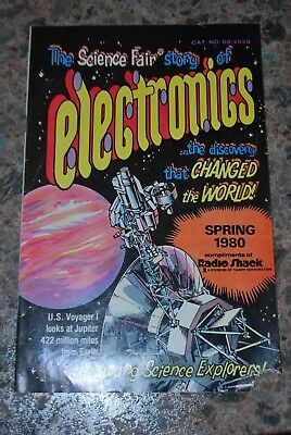 The Science Fair story of Electronics Comic Book - Spring 1980 from Radio Shack