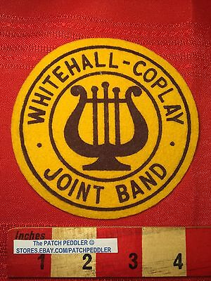 1960s WHITEHALL-COPLAY PENNSYLVANIA JOINT BAND PATCH LEGIGH COUNTY MUSIC 61C2