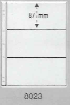PRINZ PRO-FIL 3 STRIP CLEAR BANKNOTE PAGES Pack 50 Acid Free Sheets Ref No: 8023