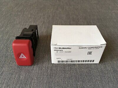 Subaru Genuine Red Hazard Switch Button for Forester STI