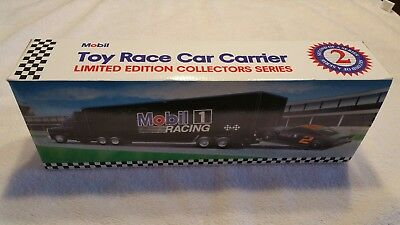 Mobil Toy Race Car Carrier Limited Edition 2nd of a series