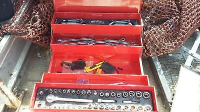 Canterlever Toolbox & Tools.truck,plant,farm,car,service,workshop,garage,tools.