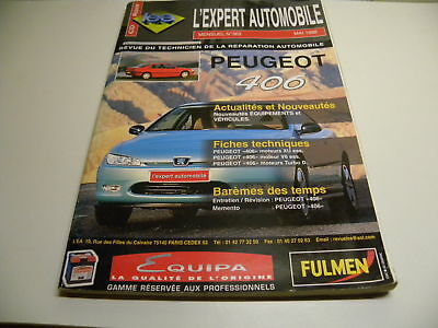 Revue technique automobile RTA PEUGEOT 406 n°363