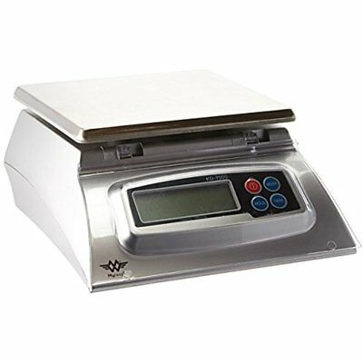 My Weigh Digital Scales 7000-Gram Kitchen Food Scale,Silver