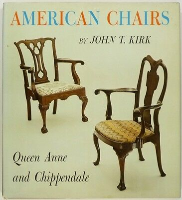 Antique American Chairs - Queen Anne and Chippendale - Kirk Classic -Signed