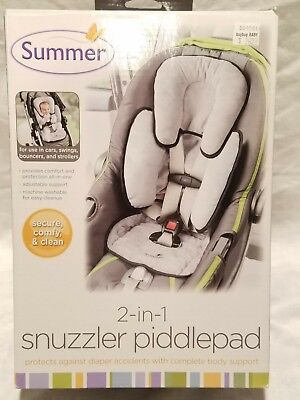 Summer 2 in 1 Snuzzler Piddlepad Use in Baby Car Seats Swings Bouncers Strollers