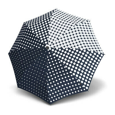 Umbrella by Knirps - T.200 Duomatic Galateia Navy (UV Protected)