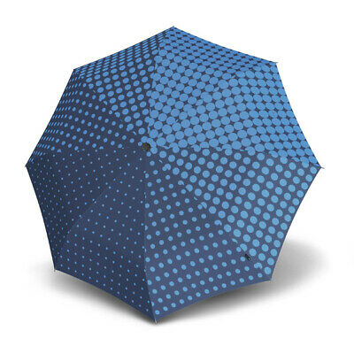 Umbrella by Knirps - T.200 Duomatic Galateia Blue (UV Protected)