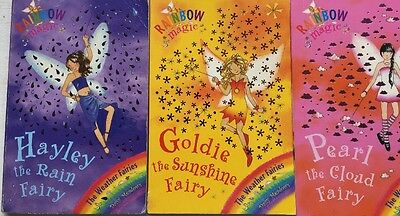 Rainbow Magic books set: Series 2 - The weather fairies. Three Books.