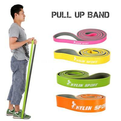 Latex Pull up Band Stretch Training Bands Fitness Exercise Resistance Band B7C5