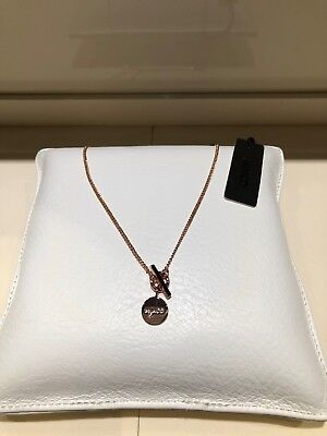 Mimco Charmer Rose Gold Necklace Authentic New with tag RRP79.95
