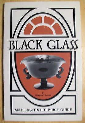 ANTIQUE VINTAGE BLACK GLASS $$$ id PRICE VALUE GUIDE COLLECTOR'S BOOK