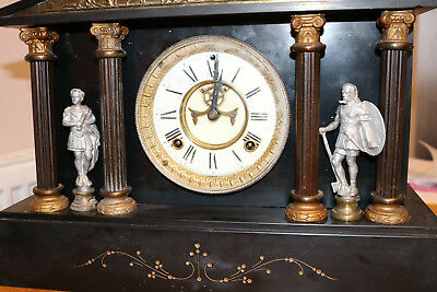 Large ansonia slate clock spares/repair
