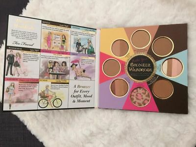 Too Faced Palette The Little Black Book Of Bronzers Authentique Neuve