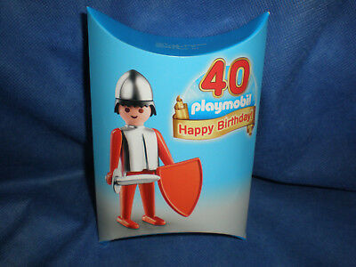 Playmobil Give away Messe Promo 40 Jahre Ritter Klicky neu new