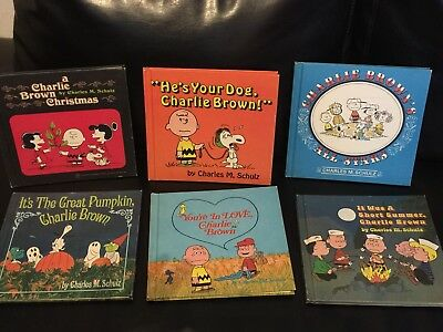 Vintage With Love From Charlie Brown Complete Set of 6 Books 1st Edition