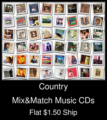 Country(3) - Mix&Match Music CDs U Pick *NO CASE DISC ONLY*