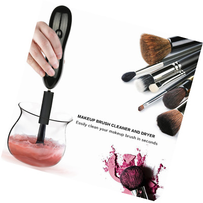 Makeup Brush Cleaner Automatic Makeup Brushes Drier 360 Degree Rotation with 8 R