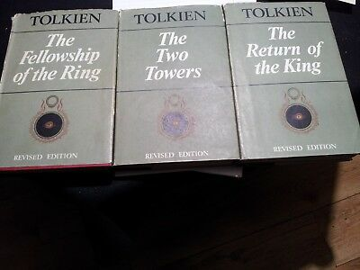 J.R.R .Tolkien, The Lord of the Rings 1966 NO RESERVE !!!!!