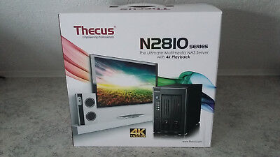 Thecus N2810 Plus NAS Multimedia Server 4K HDMI