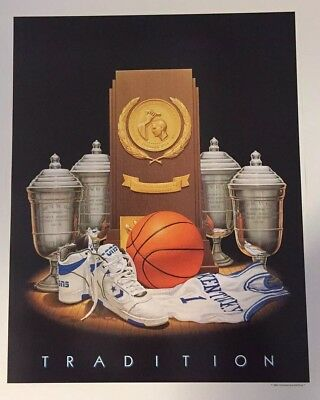 University of kentucky wildcats basketball poster