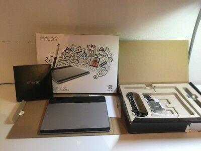 Wacom Intuos CTH-480S-S, Creative Pen&Touch Tablet, Grafiktablet, OVP, Top