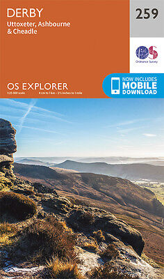 Derby Explorer Map 259 - New - OS - Ordnance Survey