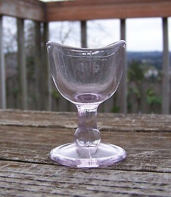 Vintage Light Purple (Sun Kissed) Eye Wash Bath Cup