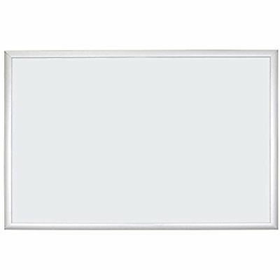 Basics Magnetic Dry Erase Board, 35 X 23 Inches, Silver Aluminum Frame