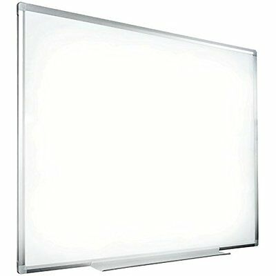 "Wall Mount Hanging Dry Erase Board Magnetic Wipe 44"" X 32"" Whiteboard With Frame"