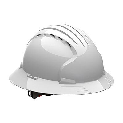 280-EV6161-10V Full Brim Hard Hat With HDPE Shell, 6-Point Polyester Suspension