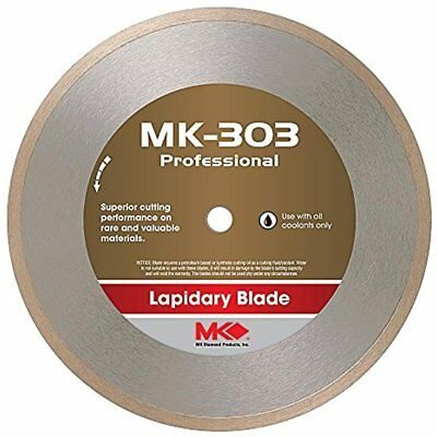 153696 MK-303 Professional 10-Inch Diameter Lapidary Blade By .040-Inch Wide