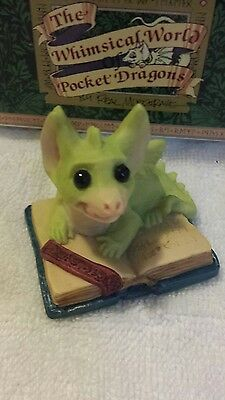 Pocket Dragons Dragon *Mint in Box * - A Book My Size  - 1992