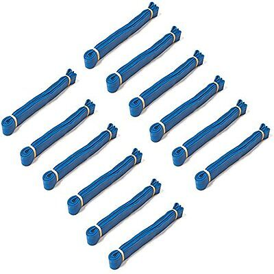 36 Long Movers Rubber Band- To Secure Moving Blankets Furniture Pads Blue (12