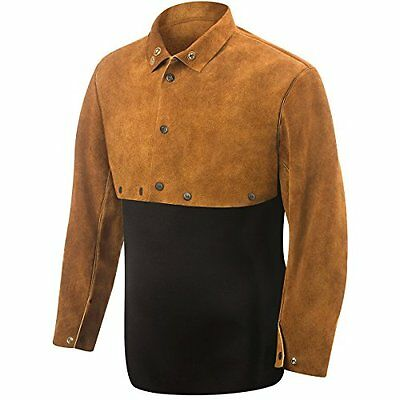 9210-2X Cape Sleeve, Weld-Rite Premium Brown Split Cowhide, 2X-Large