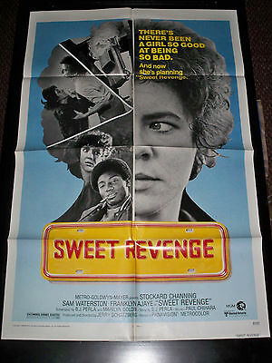 SWEET REVENGE - U.S. ORIGINAL ONE-SHEET POSTER 27x41 - 1977 Stockard Channing
