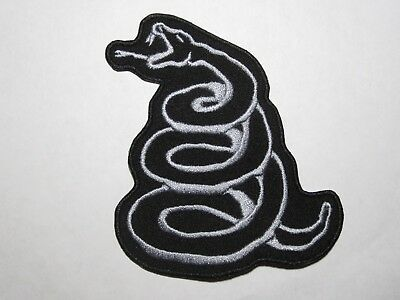 METALLICA Snake embroidered NEW patch