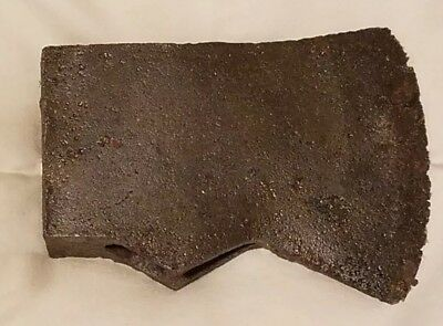 Antique 19th Century Blacksmith Hand Forged Axe  Head No Reserve