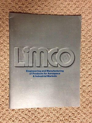 LIMCO Vintage 1991 Company & Product Brochure (25 Years Old)