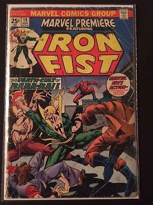 Marvel Premiere #19 FR 1st App Colleen Wing, Early Iron Fist, Netflix
