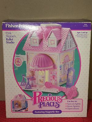 Fisher Price Precious Places Ballet Studio Box and Lights Work
