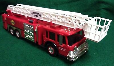 1995 Sunoco Aerial Tower Fire Truck 1:35 scale working lights & sirens