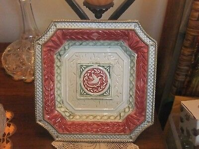 """Fitz and Floyd Gregorian Handcrafted China / Decorative Plate - 9 1/2"""""""