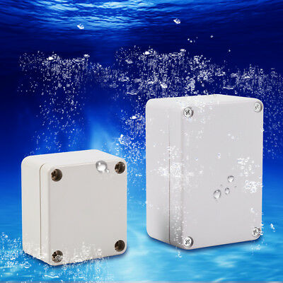 IP65/66 Waterproof Weatherproof Junction Box Plastic Electric Enclosure Case gd