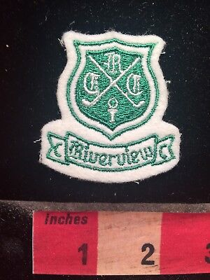 RIVERVIEW COUNTRY CLUB Pennsylvania (I Think) Golf Patch 79XX