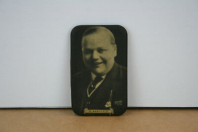 Roscoe Fatty Arbuckle VERY RARE Celluloid Pocket Mirror Circa 1915 to 1920