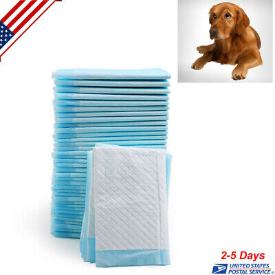 100 33*45cm Disposable Underpad Cat Dog Pet Pee Training Potty Puppy Wee Wee Pad