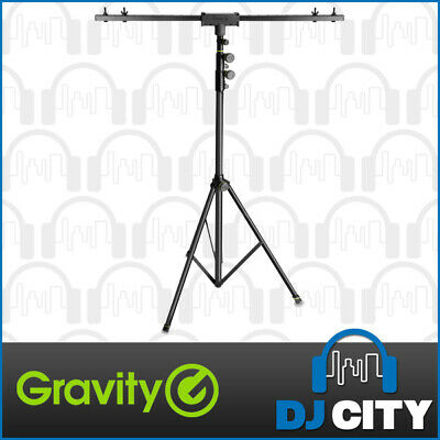 Gravity GLSTBTV17 Tripod Lighting Stand 2.5m Reach T-Bar Supports 30kg
