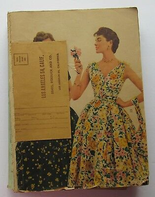 Catalog For Sears Spring & Summer  1955 Fashions, Toys, Electronics  & More