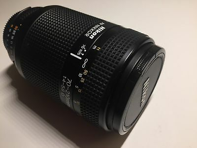 Nikon Nikkor 70-210mm f4-5.6 AF Macro Zoom FX & DX - Excellent Condition w/Caps